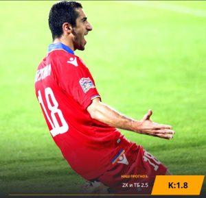 Армения - Италия: бесплатный прогноз на матч 05.09.2019