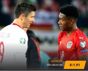 Польша - Австрия: бесплатный прогноз на матч 09.09.2019