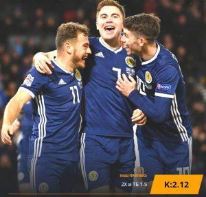 Шотландия - Россия: бесплатный прогноз на матч 06.09.2019